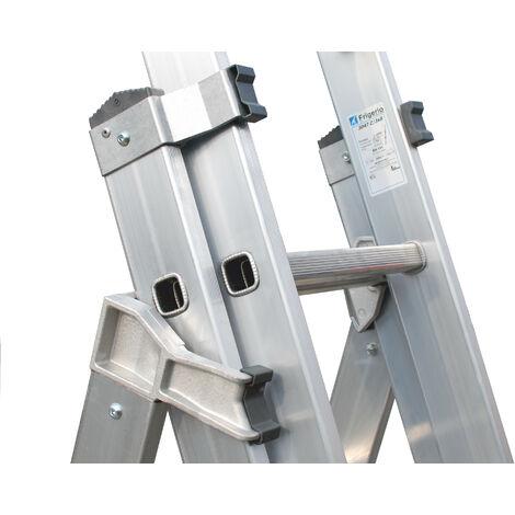 L'échelle Frigerio Multifonction trois troncs chevilles hauteur max 6,96 3047Z/10