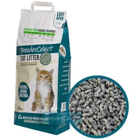Lecho Higiénico De Papel Ecológico Para Gatos