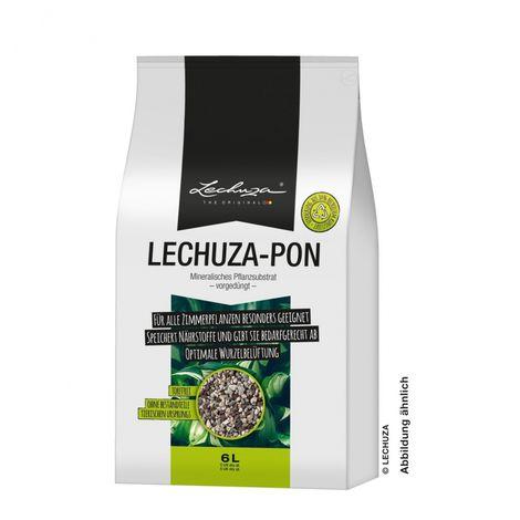 Lechuza Substrat de plantation Pon 6 litres