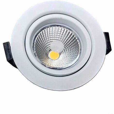 LED 10W BBC RT2012 Orientable Dimmable 220V Extraplat - Blanc du Jour 6000K