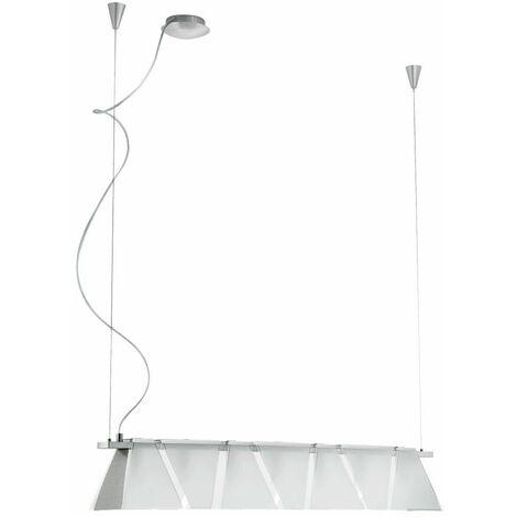 LED 13,3 vatios lámpara colgante lámpara de techo de vidrio esmerilado sala de estar de luz de iluminación