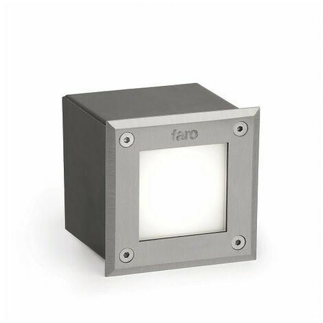 LED - 18 Lámpara empotrable - Níquel mate