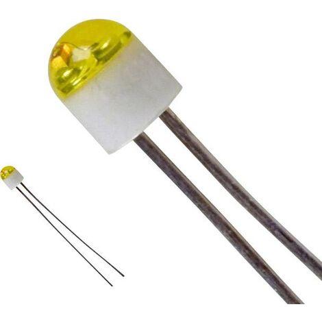 LED 2 mm jaune LUMEX SSL-LX203CYT SSL-LX203CYT rond 6 mcd 160 ° 30 mA 2.1 V 1 pc(s) V474761