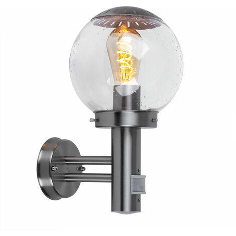 LED 7 Watt lámpara pared aire libre detector movimiento de luz IP44 terraza balcón lámpara de pared