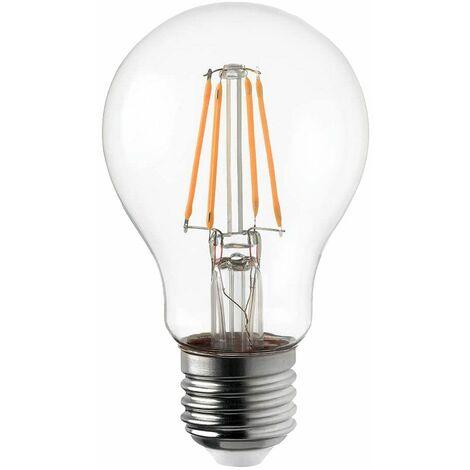 LED 8 vatios bombilla luz blanca cálida luz de filamento EEK A ++ E27 LightMe LM85137