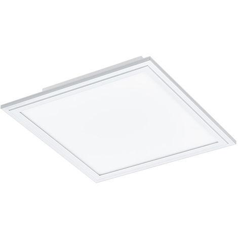 LED A panneau de carrosserie plafonnier salle de travail grille éclairage ALU lampe blanc Eglo 96895