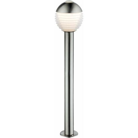 LED al aire libre de la zona de soporte de la lámpara de soporte de pedestal de acero inoxidable lámpara de bola de pie soporte de luz Globo 34288