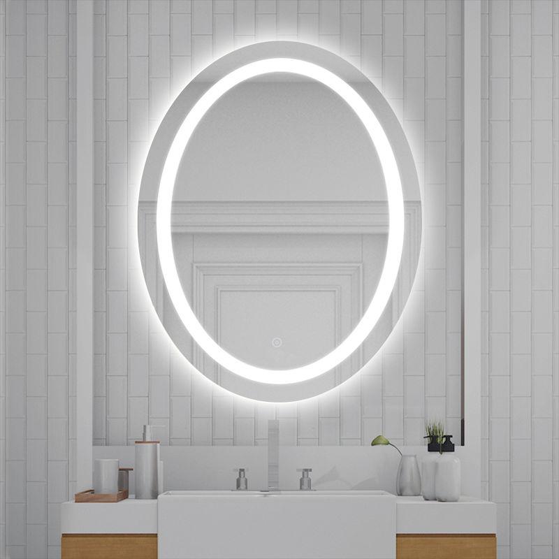 LED Anti-fog Ellipse Badspiegel Beleuchtung Badezimmerspiegel Wandspiegel