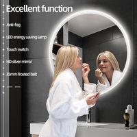 LED Anti-Fog Rund Badspiegel Wandspiegel Badspiegel Mit Peeling