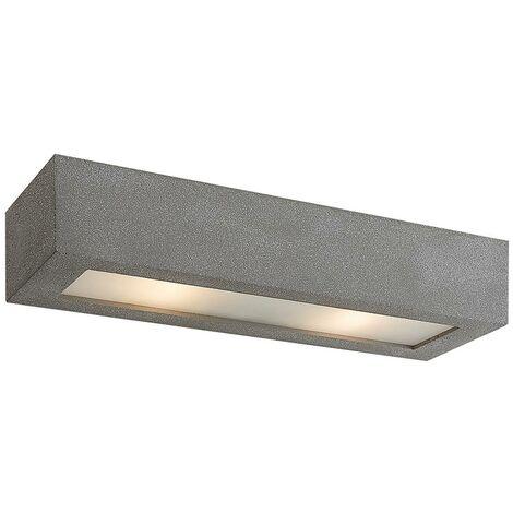 DEL Lampe murale Melek en Opal Verre lampenwelt métal décor e14 DEL salon couloir