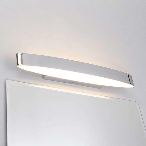 LED Applique Murale \'Yaren\' en métal pour salle de bain -