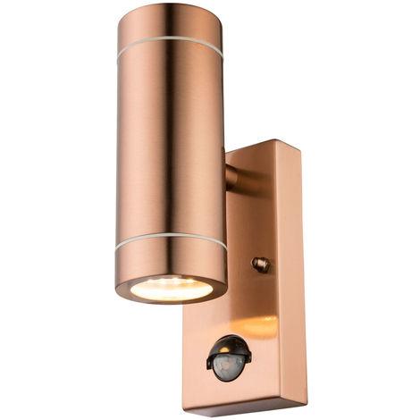 10 x EDELSTAHL Außenwandleuchte UP DOWN Außenleuchte Außen-Wand-Leuchte Lampe