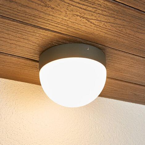 LED-Außendeckenlampe Fjodor mit Bewegungsmelder