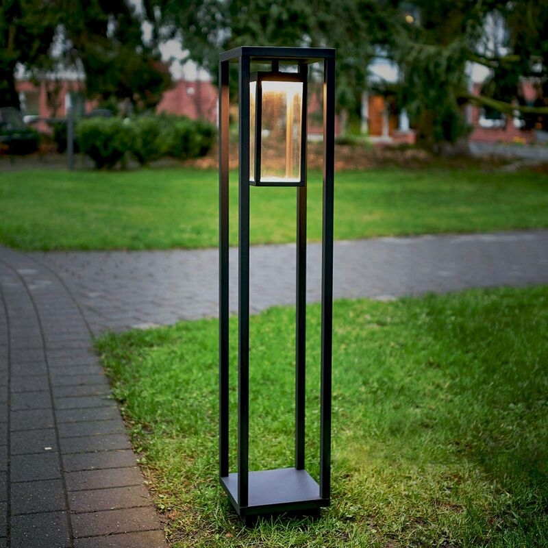 Rahmenförmige LED-Pollerleuchte Ferdinand - LUCANDE