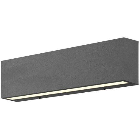 "main image of ""LED-Außenwandlampe Elvira, graphitgrau"""