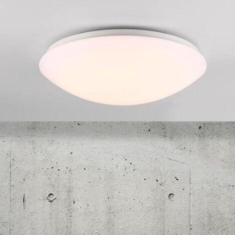 LED Badezimmer Deckenleuchte Ask rund IP44 360 mm EEK A+ [Spektrum A++ bis  E]