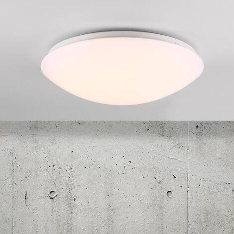 LED Badezimmer Deckenleuchte Ask Sensor rund IP44 360 mm EEK A+ [Spektrum  A++ bis E]