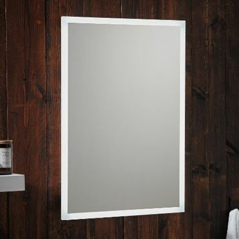 LED Bathroom Mirror Demister Pad Shaver Socket Bluetooth 500mm x 700mm Mains