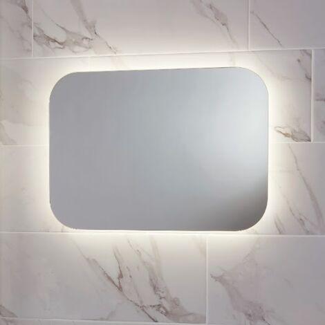 LED Bathroom Mirror Demister Pad Shaver Socket Colour Change 1200 x 600 Mains