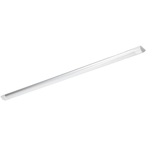 LED batten tube 36W 120cm blanc chaud surface luminaire slim barre plafond
