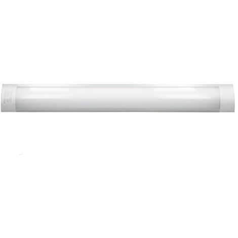 LED batten tube plafond 18W 60cm blanc froid 1305LM 220-240V en aluminium