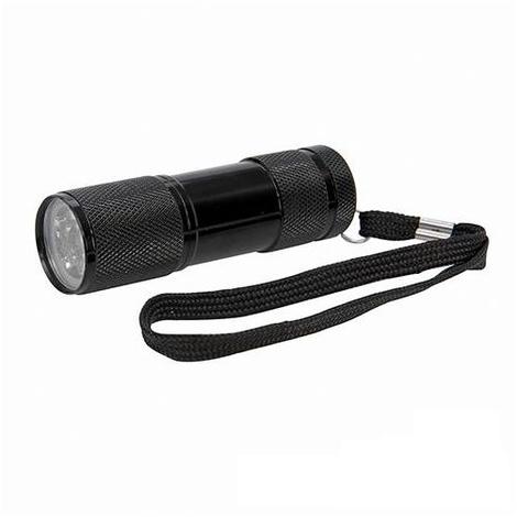 LED Black Light UV Torch - 9 LED