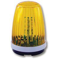 LED Blinkleuchte gelb 230V AC 24V DC Blinklampe Signalleuchte f. Drehtor Antrieb Schiebetor AP