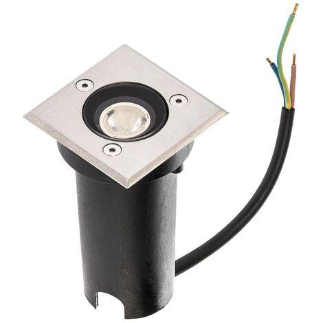 LED-Bodeneinbauleuchte Kenan, IP65, 49 Lumen