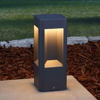 LED Borne Eclairage Exterieur 'Annika' en aluminium