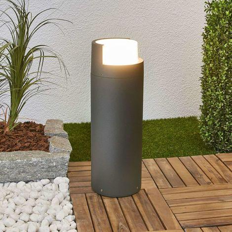 LED Borne Eclairage Exterieur 'Arne' en aluminium