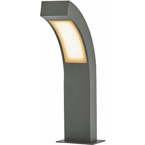 LED Borne Eclairage Exterieur 'Lennik' en aluminium