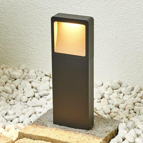 LED Borne Eclairage Exterieur 'Leya' en aluminium