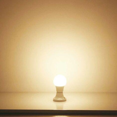 LED Bulb- 12W GLS A60 LED Thermoplastic Lamp E27 3000K (pack of 10 units)