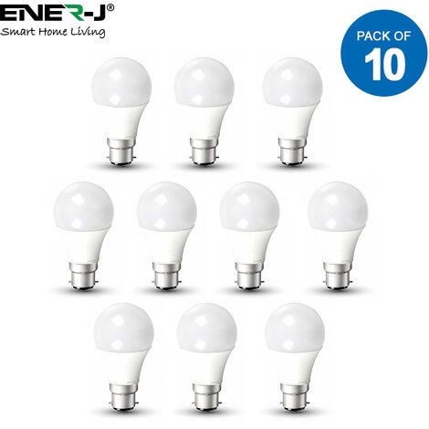 LED Bulb- 15W GLS A60 LED Thermoplastic Lamp B22 3000K (pack of 10 units)