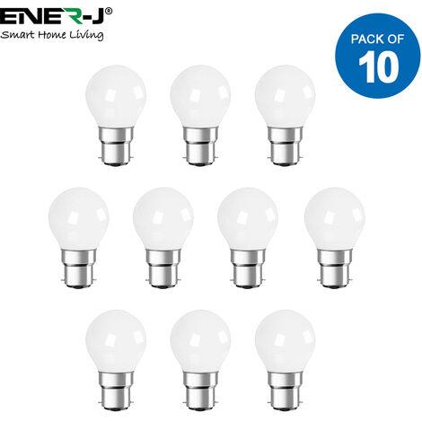 LED Bulb- 4W LED Golf Lamp B22 6000K (pack of 10 units)