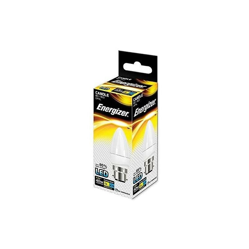 Image of ENERGIZER LED S8850 CANDLE 470LM Energy Saving Bulb