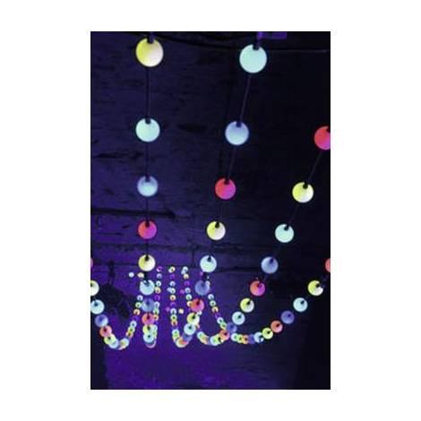 Immagini Natale 400 X 150 Pixel.Led Catena Luminosa Per Feste Eurolite Led Pixel Ball 360 1 M Multi