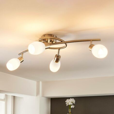 LED ceiling lamp Arda dimmable via a switch