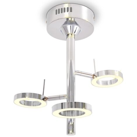 LED Ceiling Lamp with 3 Lights Warm White