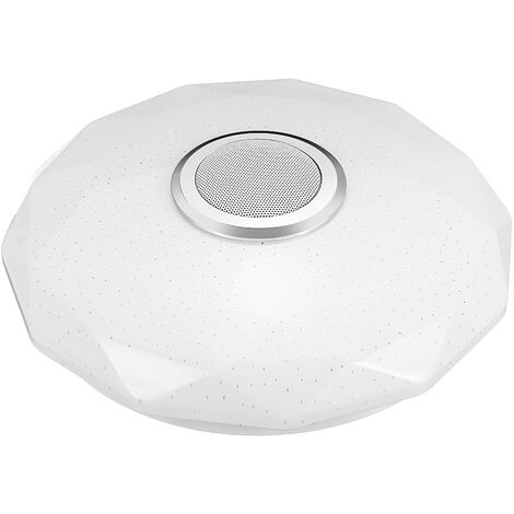 LED ceiling light 72W 30CM RGB lamp bluetooth music speaker Remote control
