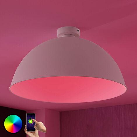 LED ceiling light Bowl WiFi 51cm white