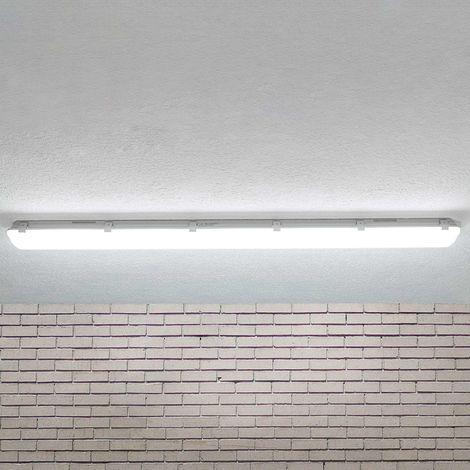 LED ceiling light Mareen, IP65, 42.5W, 151.5cm