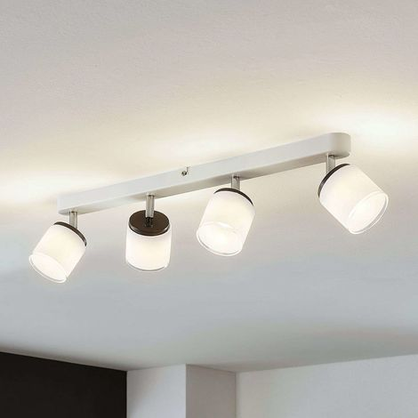 LED ceiling spotlight Futura, four-bulb