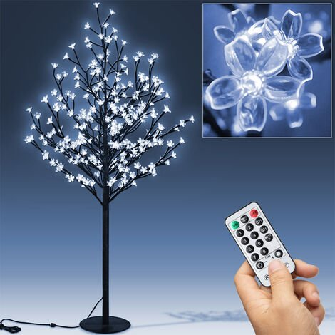 """main image of """"LED Cherry Blossom Tree Remote Control 8 Modes Timer Outside Inside M4 180m - 200 LEDs - Blue"""""""