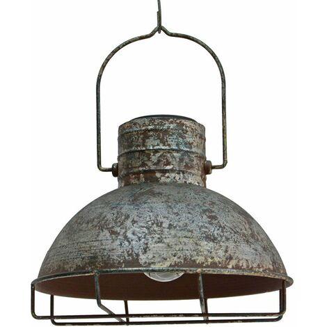 LED colgante solar al aire libre lámpara colgante jardín linterna rejilla balcón lámpara antiguo negro Harms 507252