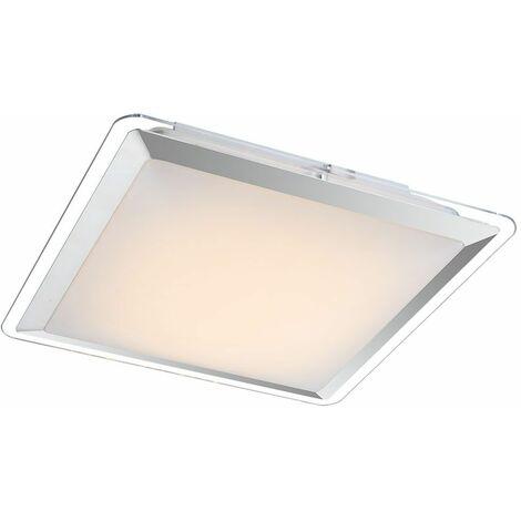 LED de 12 vatios luz de techo de cromo plástico iluminación del hogar pasillo Globo 41612