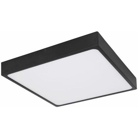 LED de construction plafonnier panneau lampe salon éclairage lampe noire Globo 12369-30
