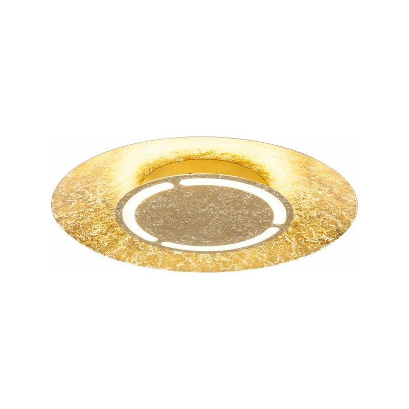 Globo Deckenleuchte Deckenlampe Design goldfarben rund LED 41900-24-61973404