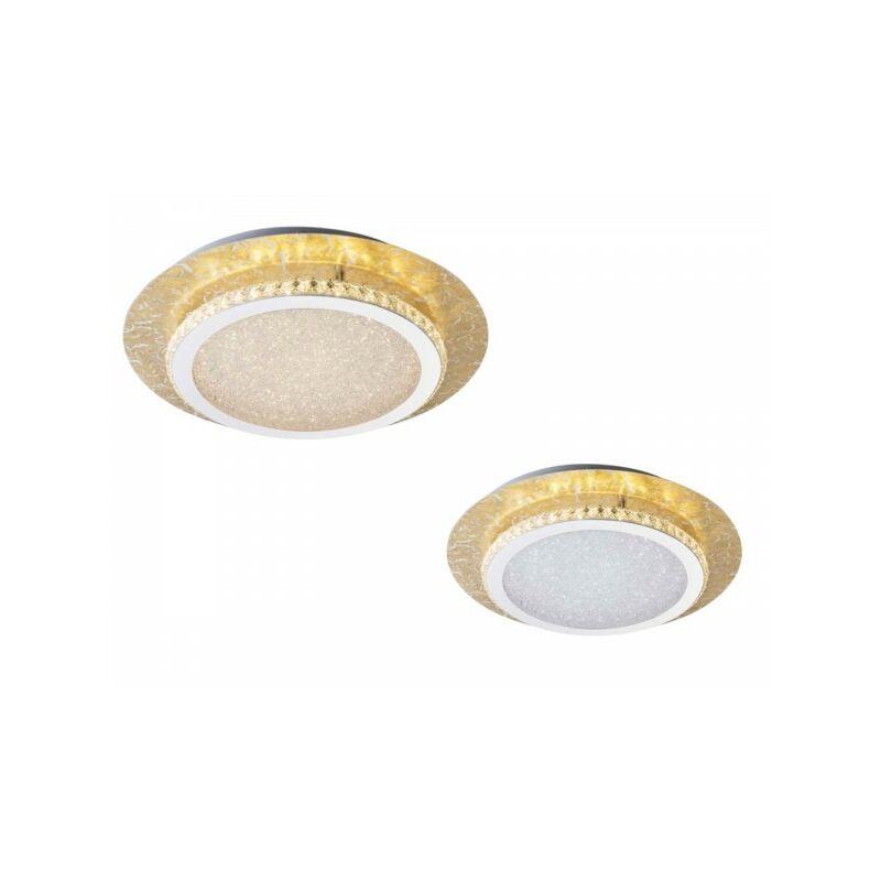 GLOBO TILO Deckenleuchte Deckenlampe K5-Kristalle 42 cm 41908-18 gold-'61504989'