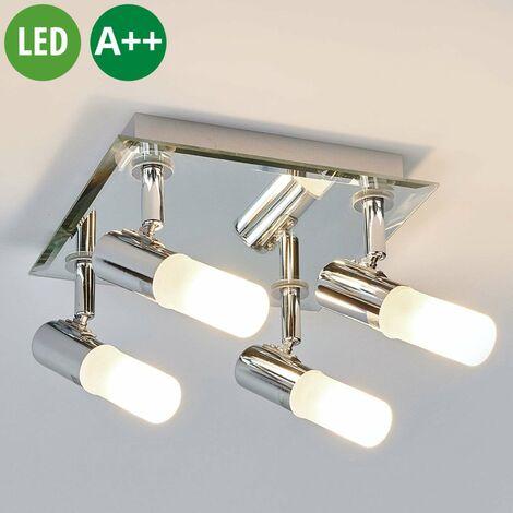 LED Deckenleuchte aus Metall dimmbar \